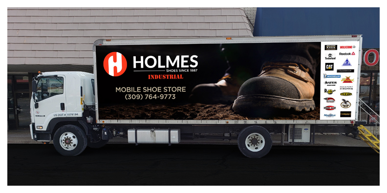 Holmes Shoes - Mobile Shoe Store